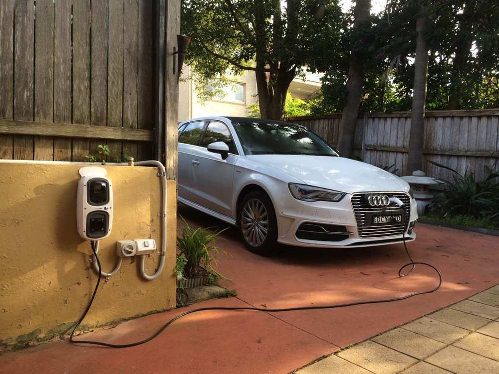 Wallpod EV Charger Outdoors