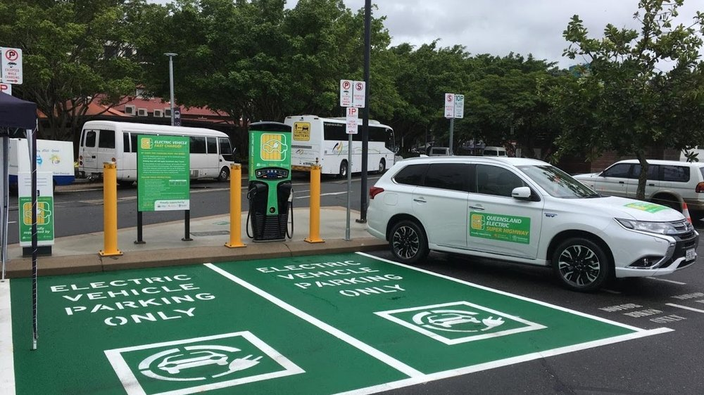 Public - Electric car charging completely changes how people