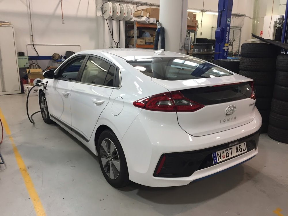 Range is everything with EVs, and the Ioniq's streamlined profile keeps drag at a minimum
