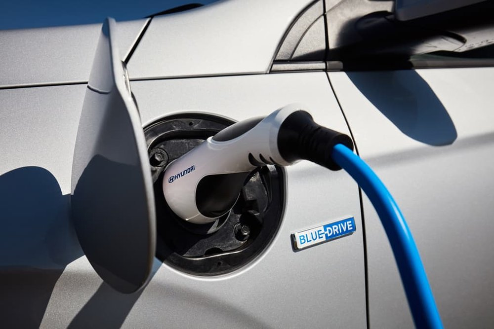 The Ioniq supports Type 2 plugs for fast, reliable charging
