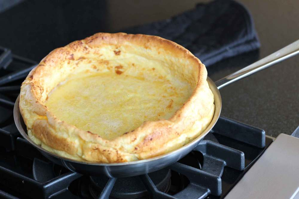 Dutch Baby, German Pancake or Queen's Crown, recipe by Thread & Whisk