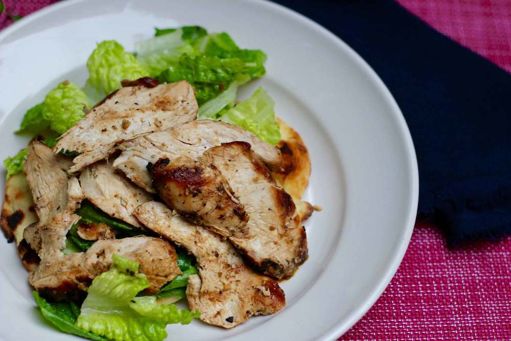 Grilled Chicken Salad recipe by Thread & Whisk