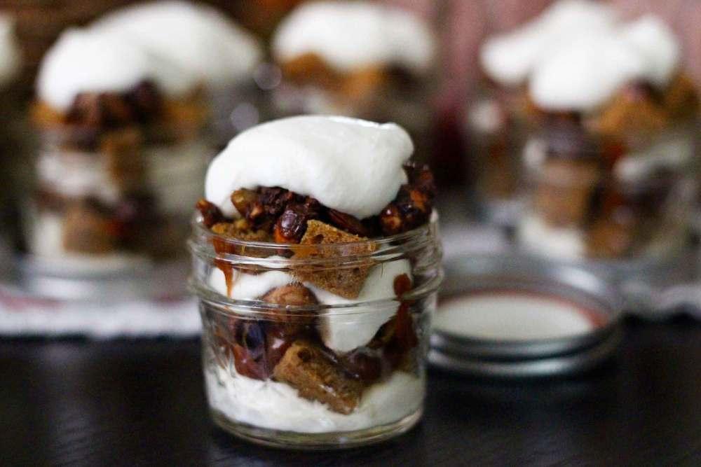 takeaway mini pumpkin trifles, recipe by Thread & Whisk