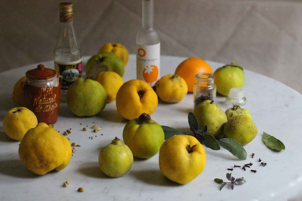 quince compote ingredients, recipe by Thread & Whisk