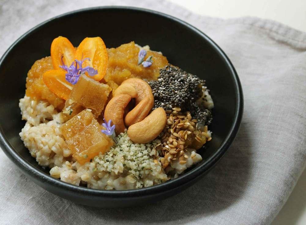 oatmeal breakfast bowl recipe, Thread & Whisk