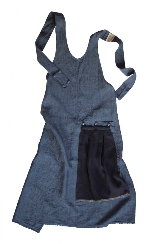 Indigo Grace Apron |  ThreadandWhisk.com