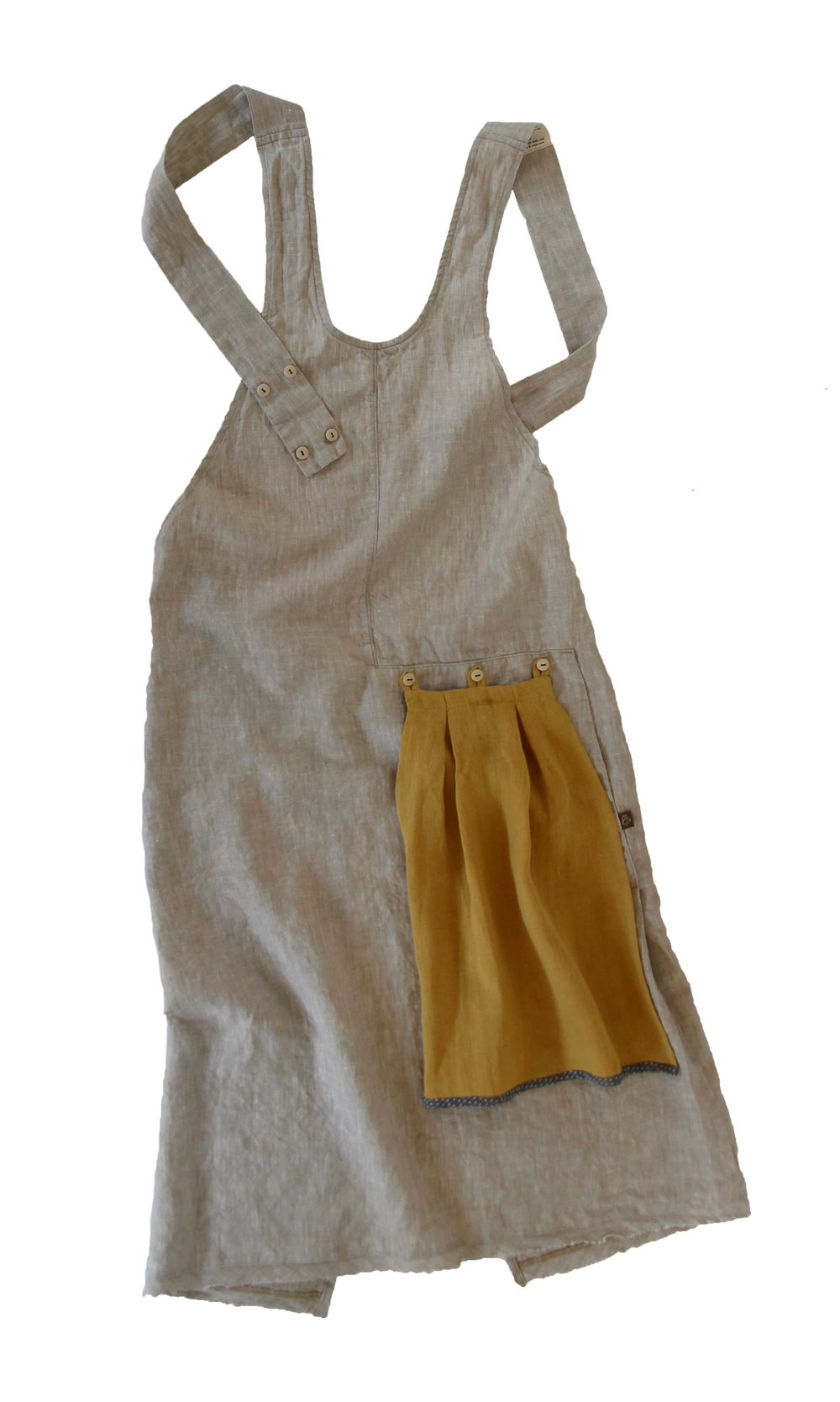 Natural Grace Apron |  ThreadandWhisk.com