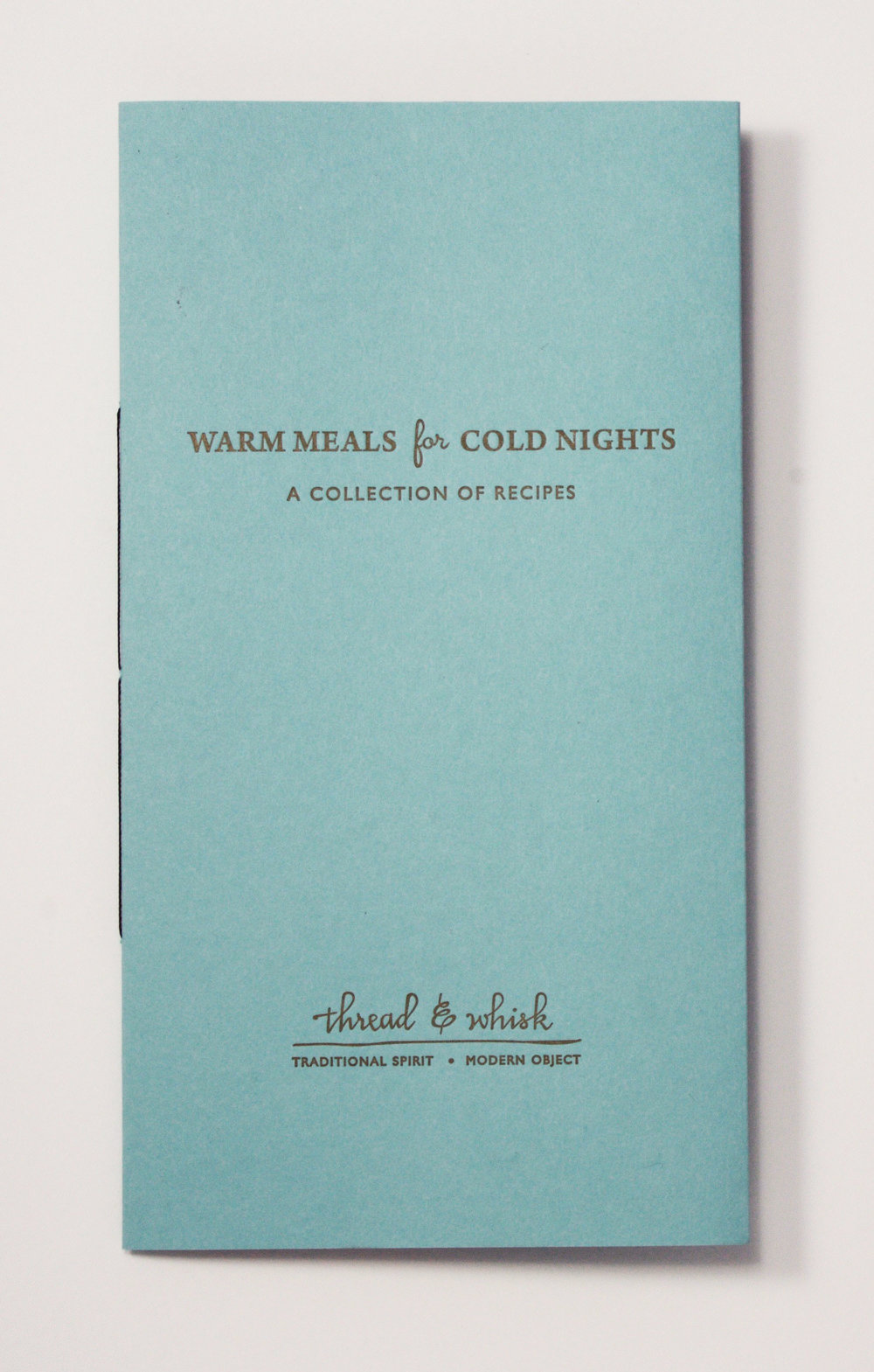Recipe Booklet $12