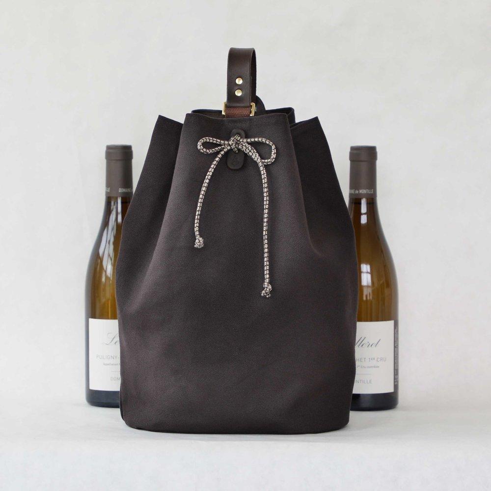 Larkspur 2-Bottle Wine Carrier  $128