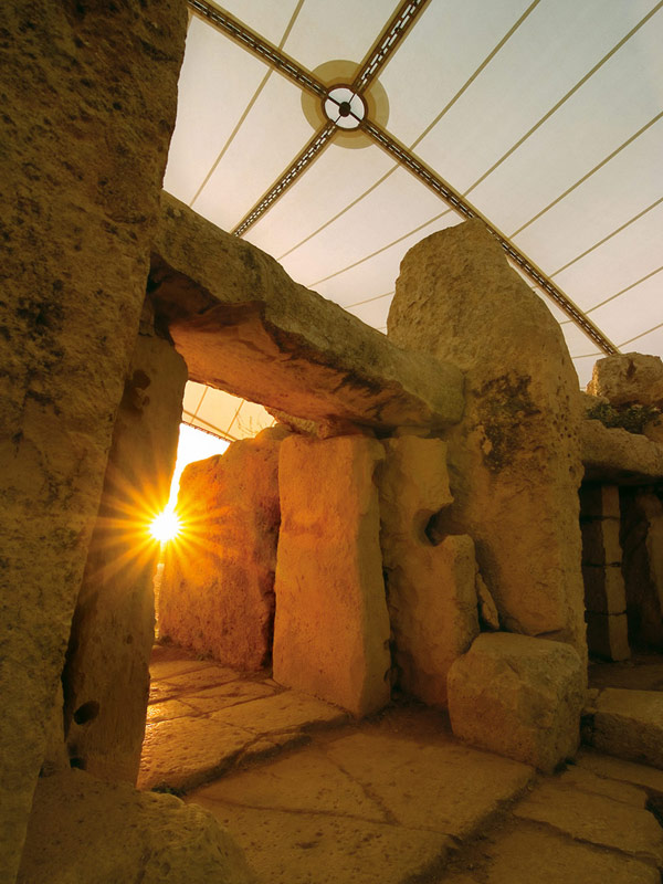 Mnajdra Temple Sunrise
