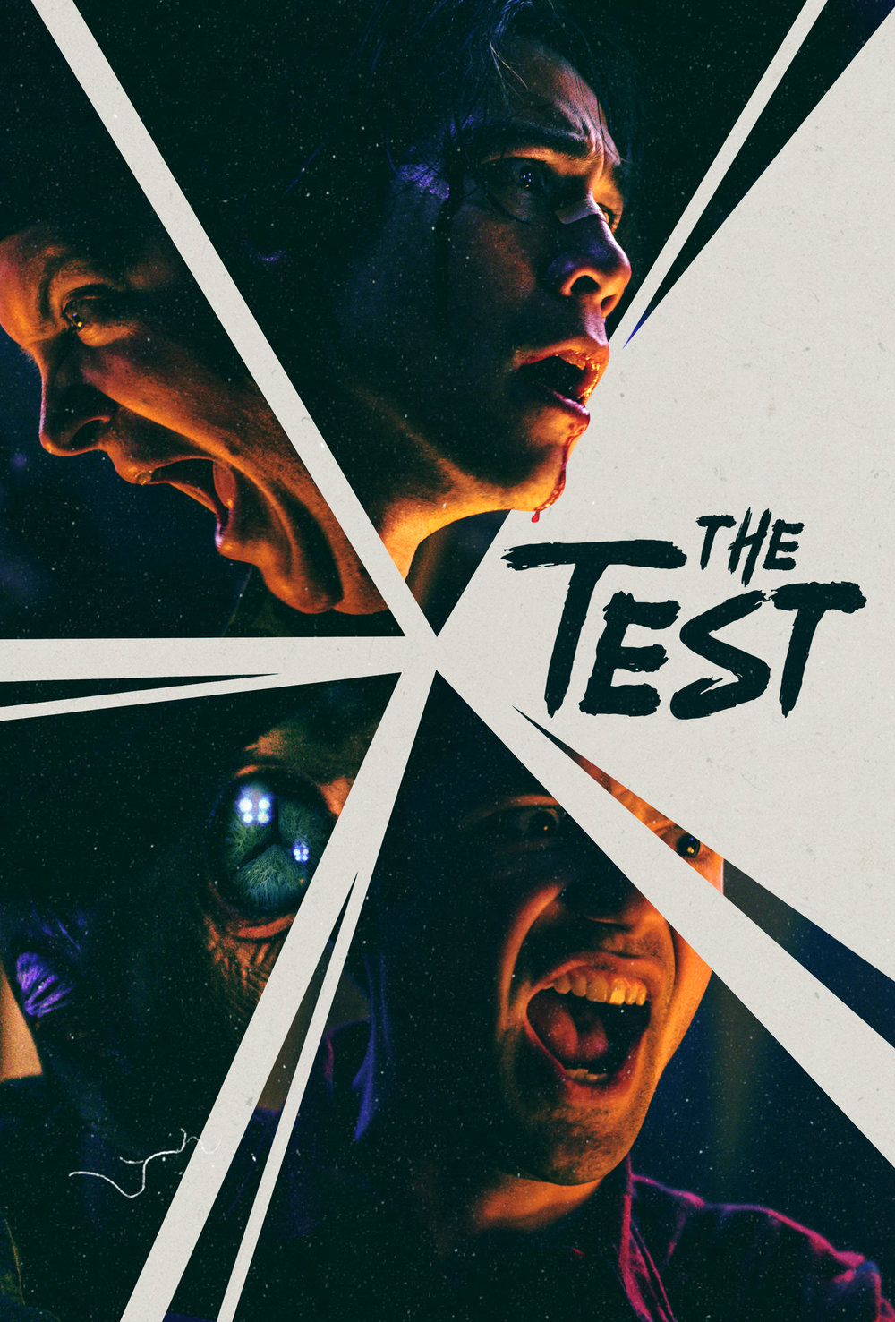 """Key art from """"The Test"""","""" one of a triptych of sketches for  Three Princes."""