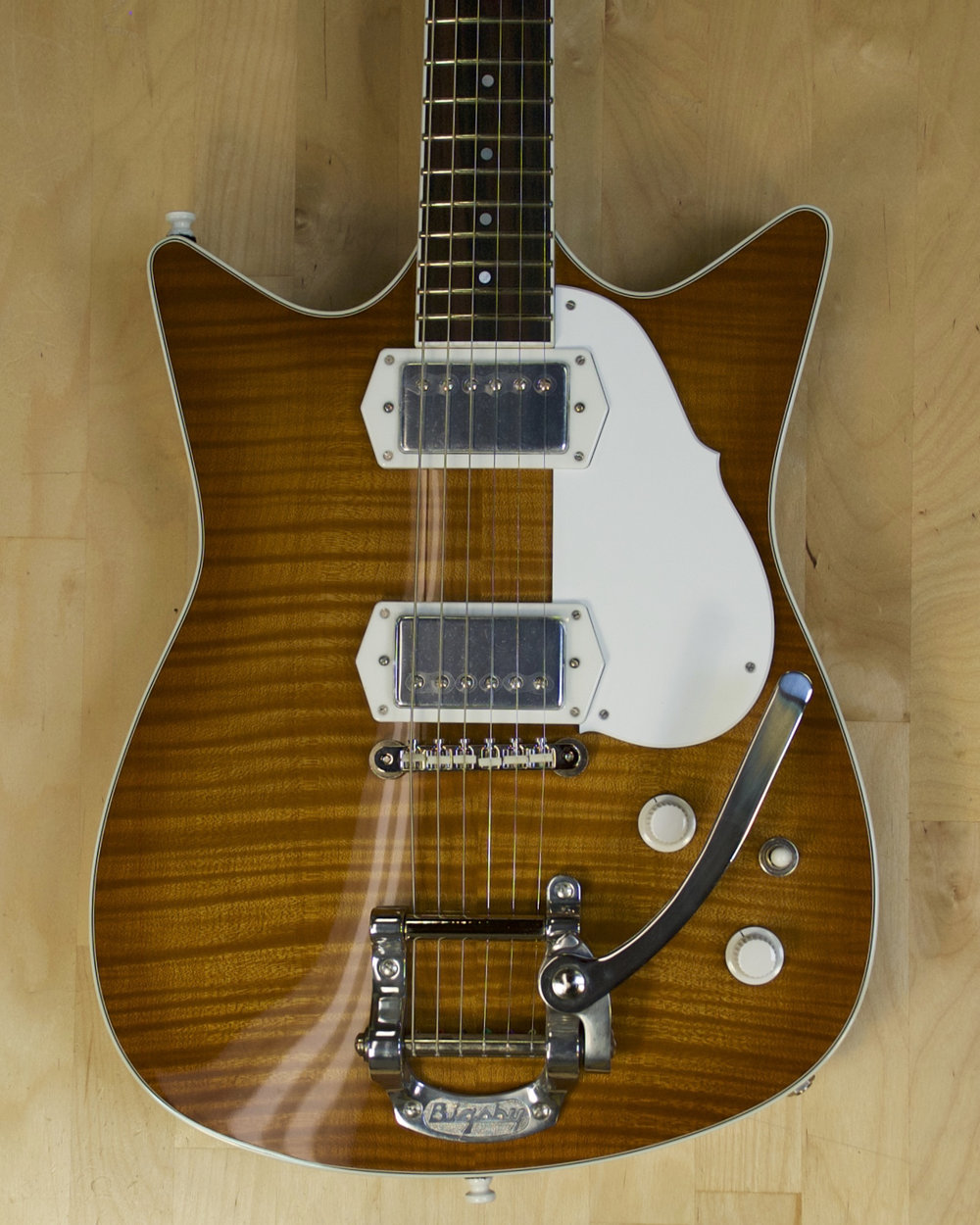 Light Amber Burst with B5 Bigsby - Available