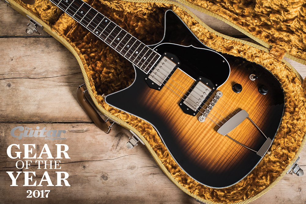 Frank Brothers Signature Model Electric Guitar - The Guitar Magazine Gear of the Year 2017