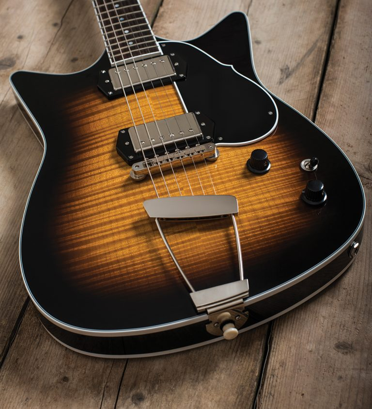 The Guitar Magazine - Guitar Review - Gear of the Year - Frank Brothers Signature Model Electric Guitar - Custom Boutique Electric Guitar
