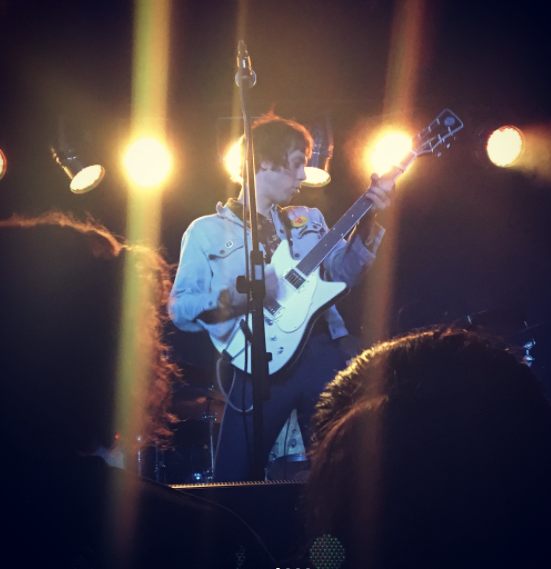 Photo by @ilockett - Daniel Romano Live with his Frank Brothers Signature Model Custom Electric Guitar