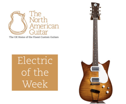 the north american guitar - guitar of the week - frank brothers electric guitar company signature model custom electric guitar