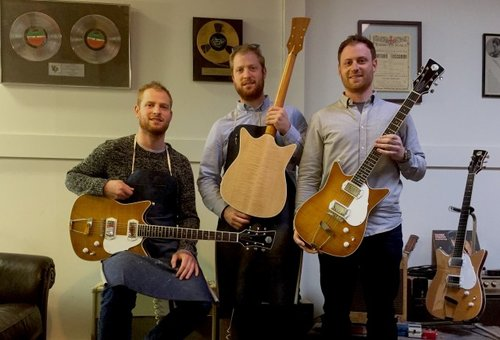 frank brothers guitar company - Torontoist - Toronto made built custom electric guitars