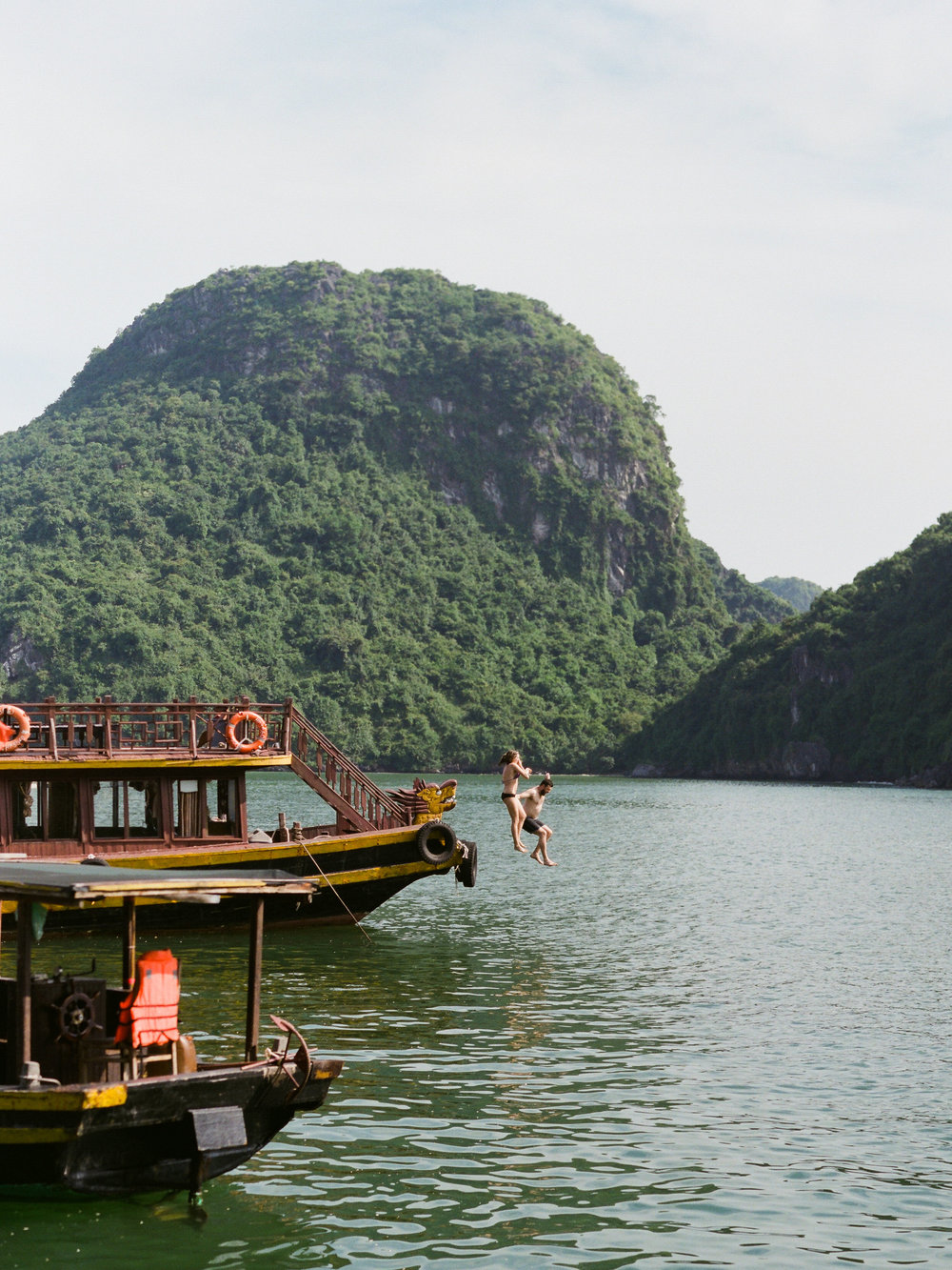 US IN HA LONG BAY, VIETNAM (IMAGE BY TULLE & GRACE)