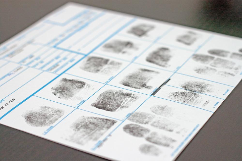 Fbi Inked Fingerprints Fnl Fingerprints Notary Public Live