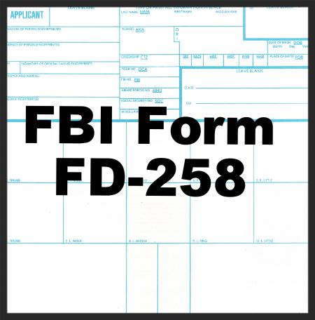 Fbi Ink On Paper Fnl Fingerprints Notary Public Live Scan