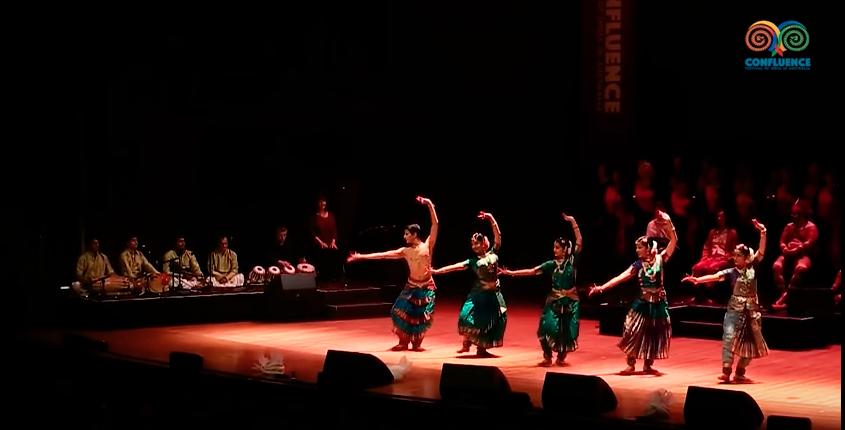 Confluence Festival, with Madhuram Academy SYDNEY OPERA HOUSE AUSTRALIA