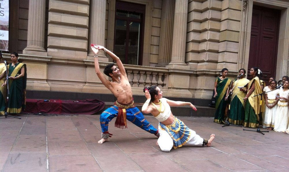 Site Specific Collaboration, Old Treasury Building - Melbourne CBD MAPPING MELBOURNE FESTIVAL, produced by MULTICULTURAL ARTS VICTORIA  AUSTRALIA