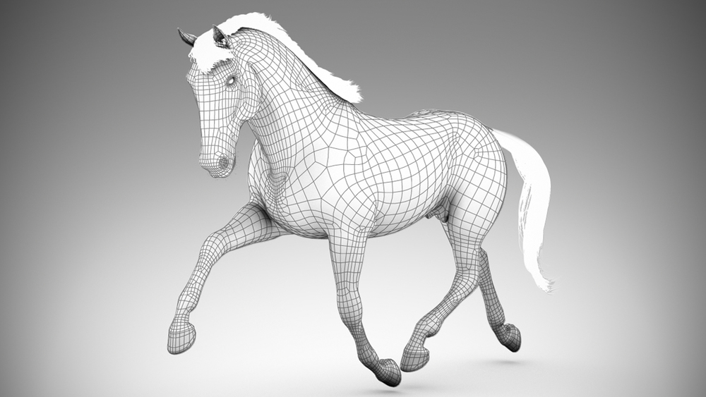 Horse (Wireframe)