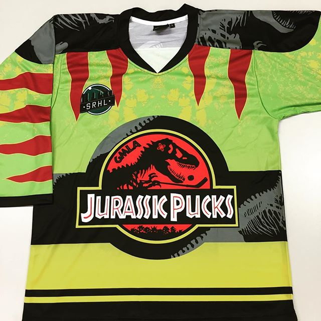 The mighty Jurassic Pucks #srhl