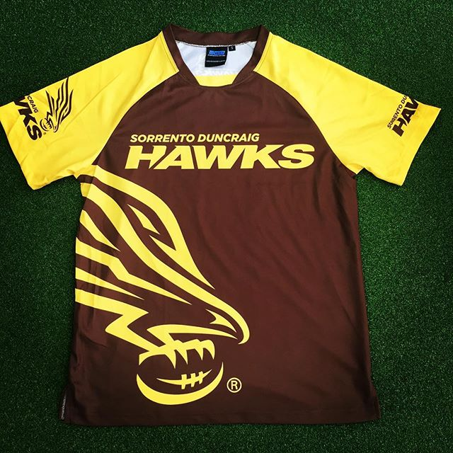 Training tees for the mighty SD Hawks!