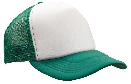Emerald / White
