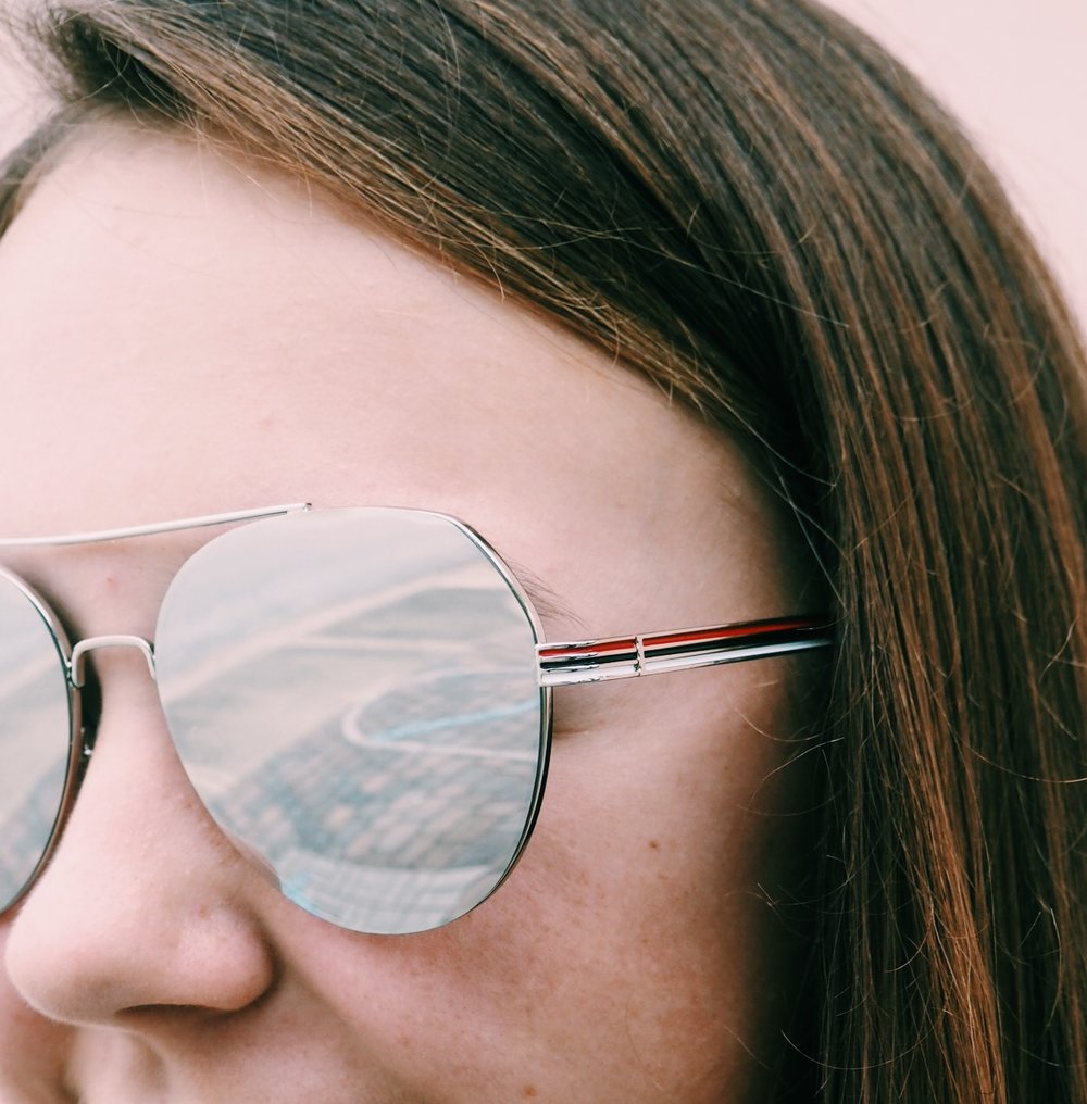 Landon Shades || Side Stripe