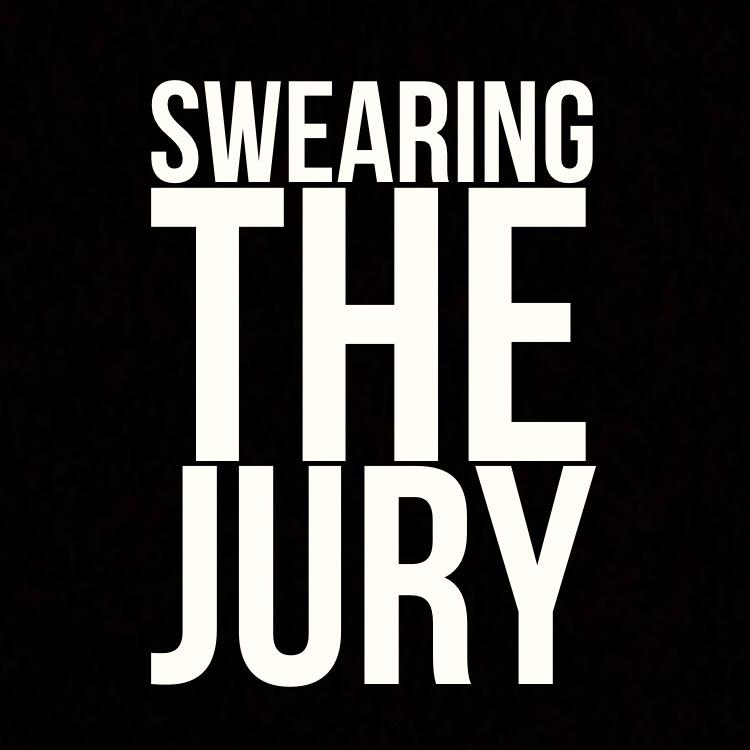 Swearing the jury