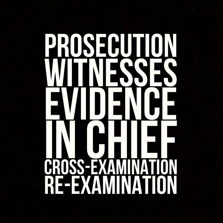 Prosecution witnesses
