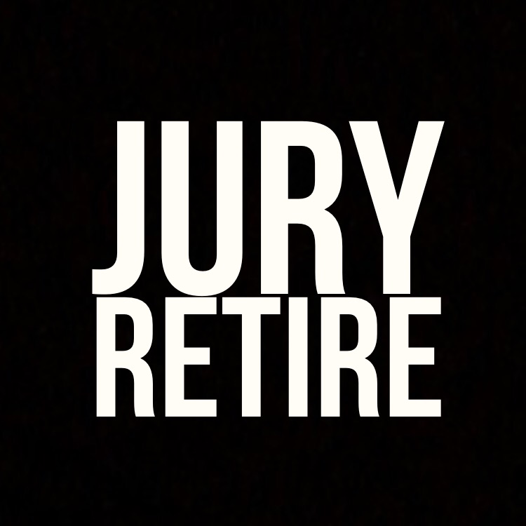 Jury retire