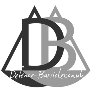 Defence-Barrister.co.uk logo with title