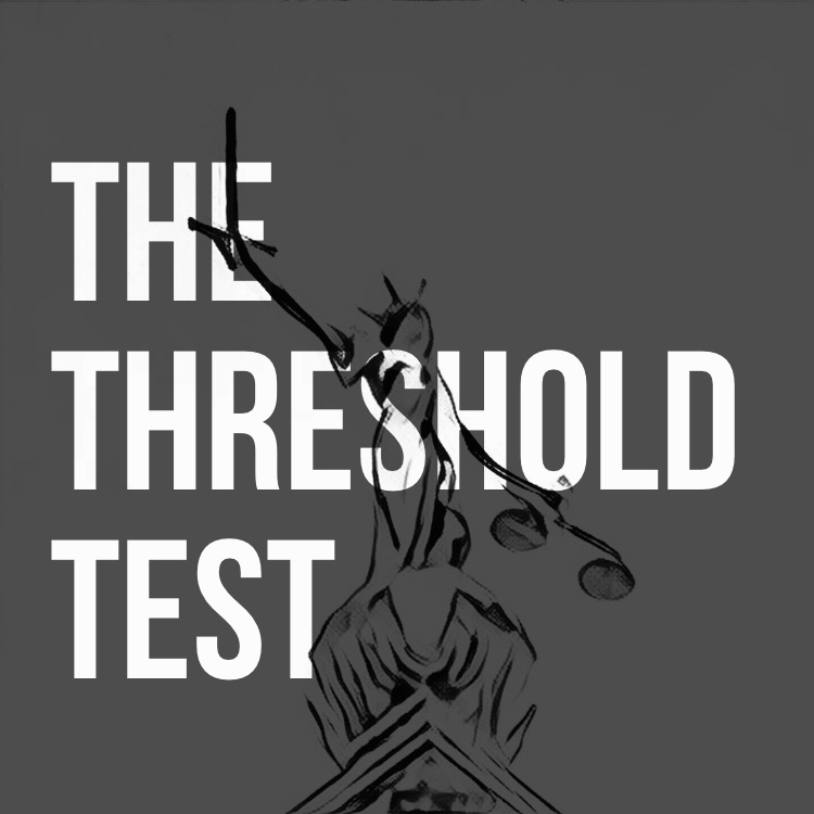 The threshold test