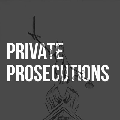 Private Prosecutions