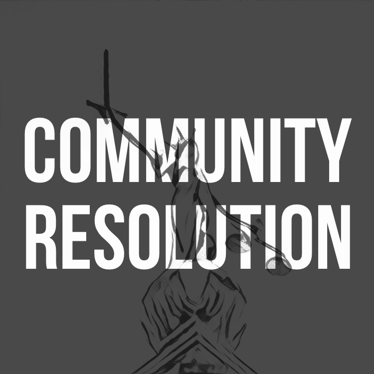 Community Resolution