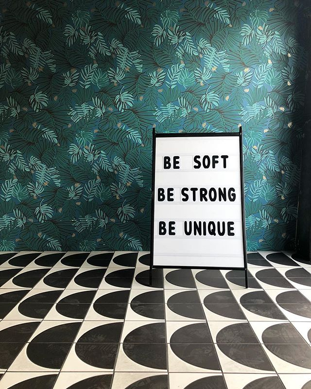 Words of wisdom from the beautiful @theuniquespace ✨