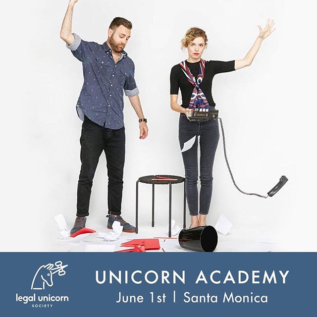 We have an exciting announcement. 🦄 So, last year we partnered with a few other innovative law firms to create a new non-profit, The Legal Unicorn Society — a network of socially conscious, friendly and accessible lawyers united to provide a full-service client experience. Now we are celebrating our launch with our first event for entrepreneurs and creatives like you. Join us June 1st in Santa Monica for an all-day workshop with panels of professionals in the legal, financial and branding fields; breakout sessions and wellness activities. More details and registration linked in our profile. You guys are our friends and loyal clients, and we'd love to have you there, so please use code Unicorn25 for 25% off your ticket.  DM me if you have any questions or want to chat brand collab ideas! - @grantkinson  Thank you to our partners @legalunicornsociety @wilkmazz @shivanilaw @ga_losangeles