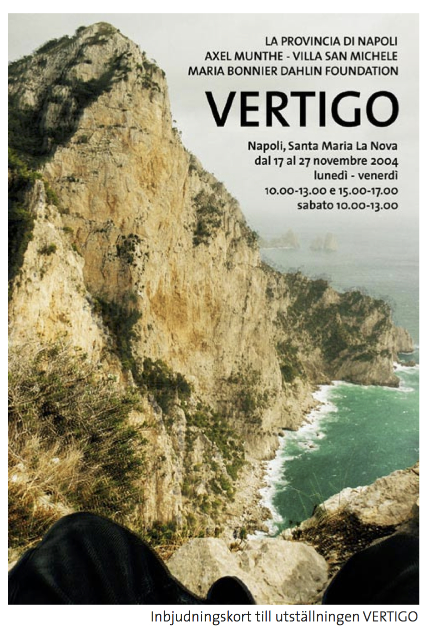 Inbjudningskort till VERTIGO