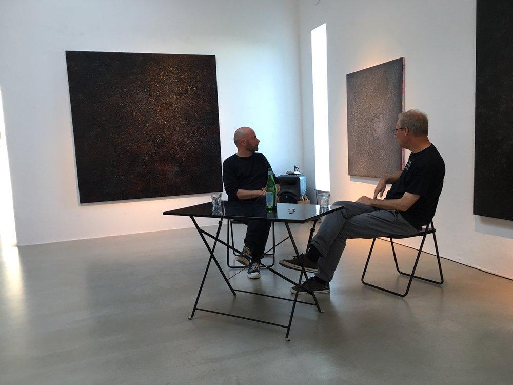 Artist Talk: Martin Ålund & Jonas Ellerström, Körsbärsgården, July 5, 2017