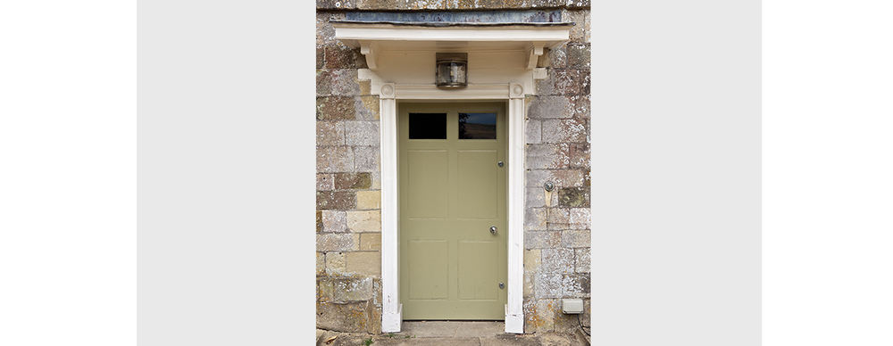 Joinery repairs to door and moulding details