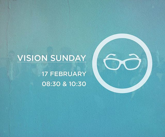In each of our services tomorrow, we will be hearing both the vision for 2019 and the vision for the future of Globalheart Church!  Also, we have a special video greeting from our Senior Pastor, Ps Gerard. These are services you definitely don't want to miss! #VisionSunday 1st service 8:30-10:00 hrs  2nd service 10:30-12:00hrs Sterkinekor Cinema, Mandahill