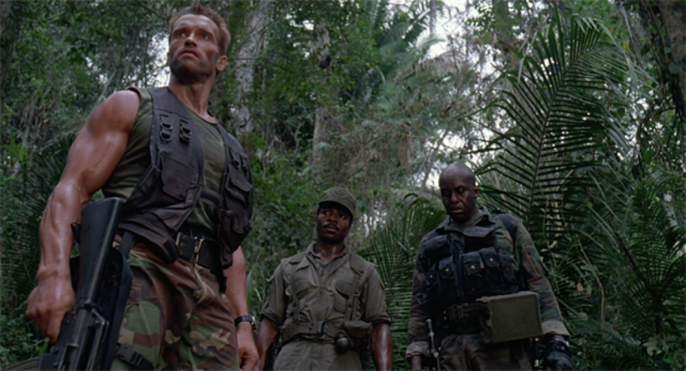 The Predator. I just recently found out he also directed Die Hard. Master of action suspense.
