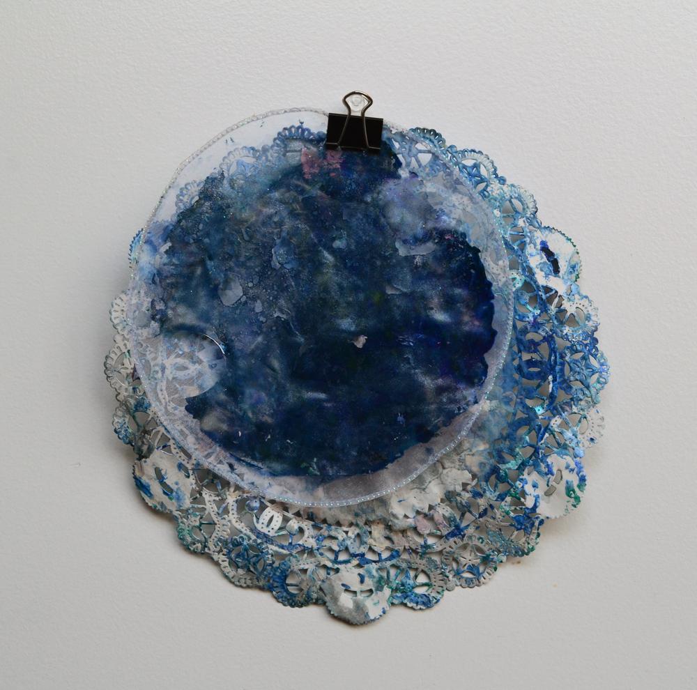 """""""blue sun""""(back),2014"""