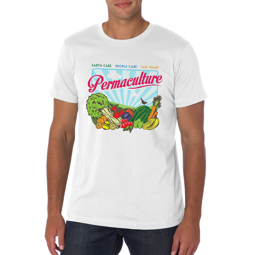 Permaculture t-shirt (Mens) / $35