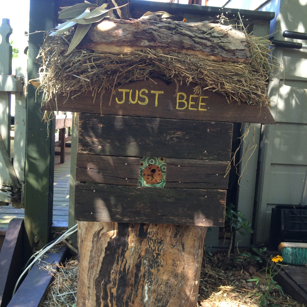 """Just Bee"" by Julie Gundlach"