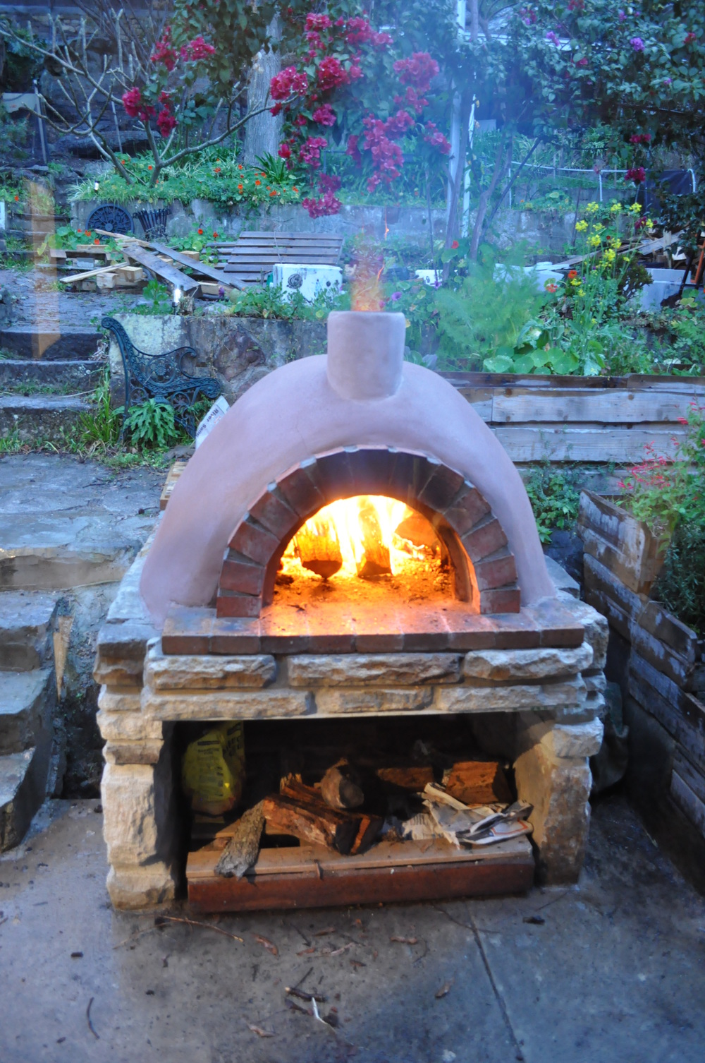 """Wood fired pizza oven"" by Paul Ryan"