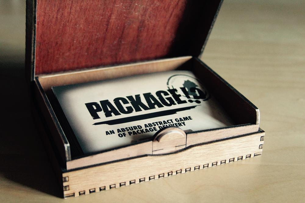 Kickstarter Ltd Edition Wooden Box